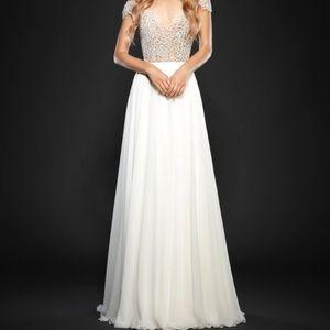 Hayley Paige Style 6710 Celine Dress- NWOT